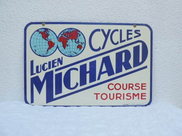 Tôle Cycles Lucien Michard